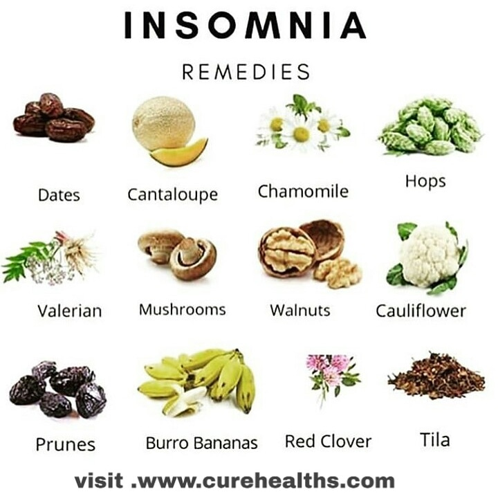 Diet for insomnia