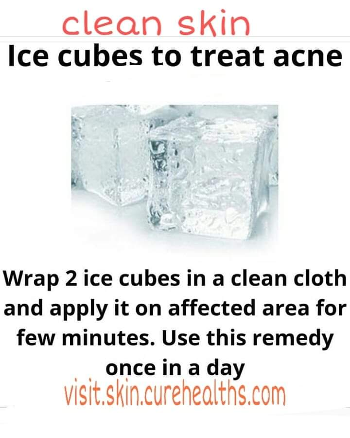 Use of ice
